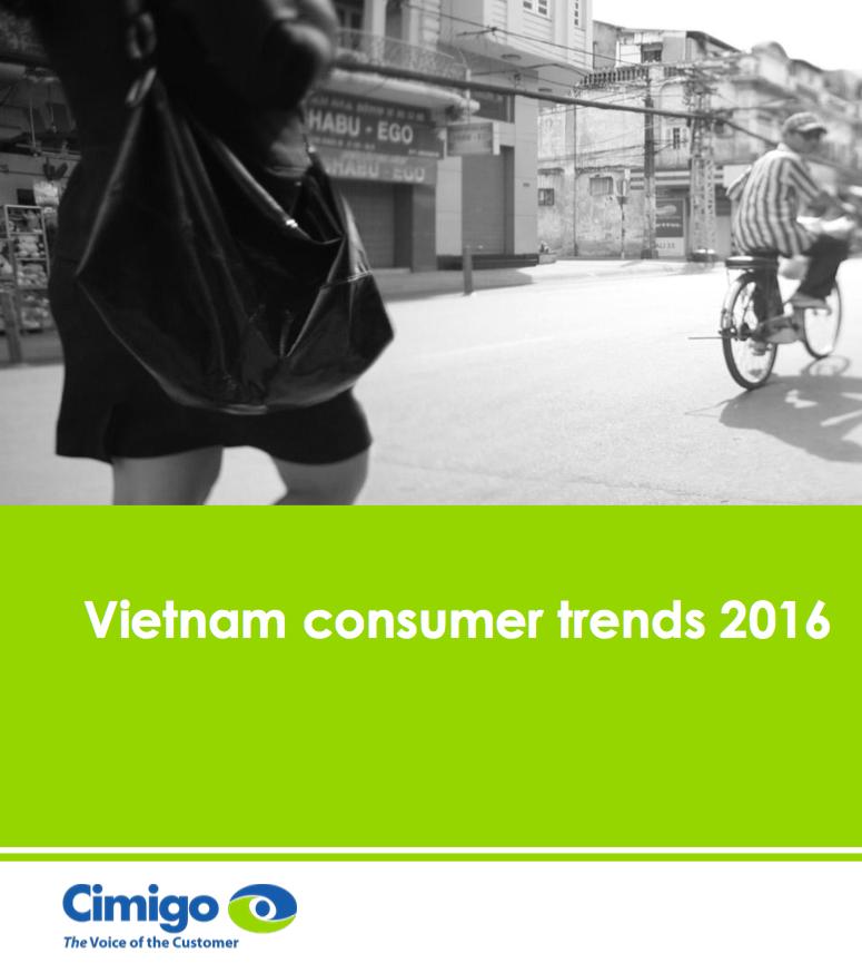 Cimigo Consumer reports 2016